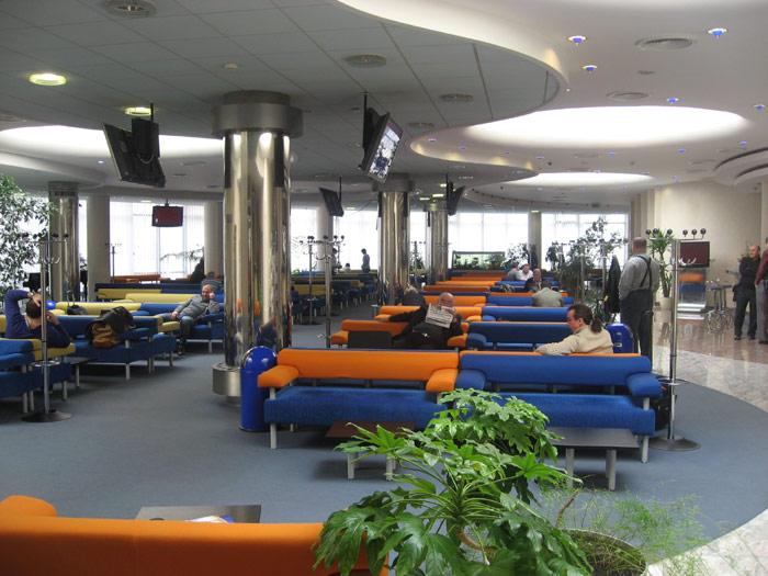 Бизнес-зал АэроСвита в аэропорту Борисполь