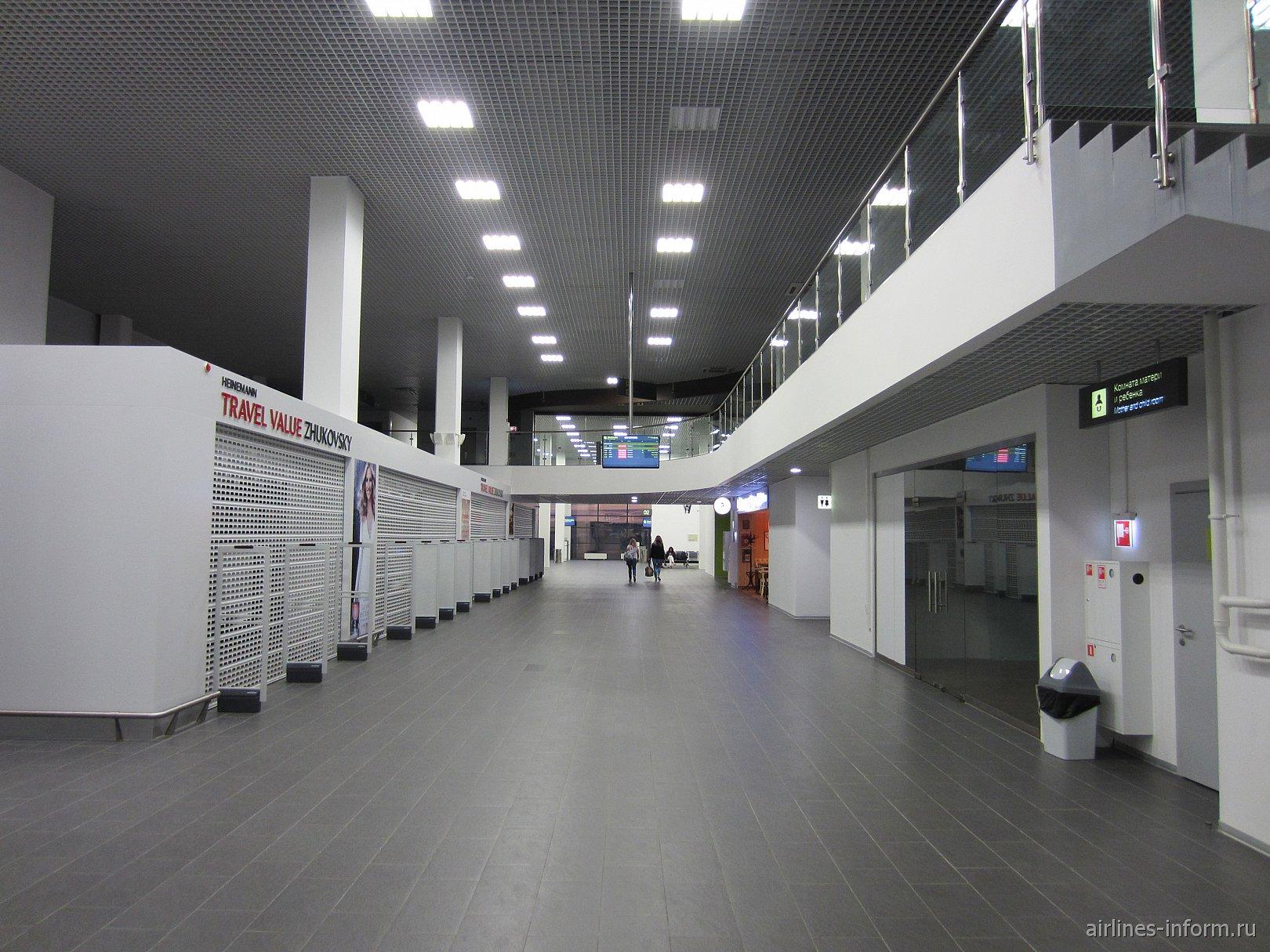 В стерильной зоне аэропорта Жуковский