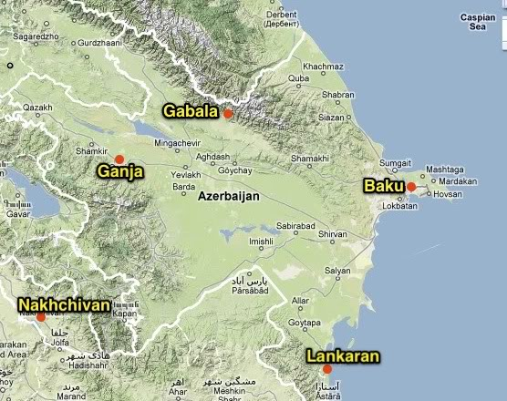 Airports of Azerbaijan