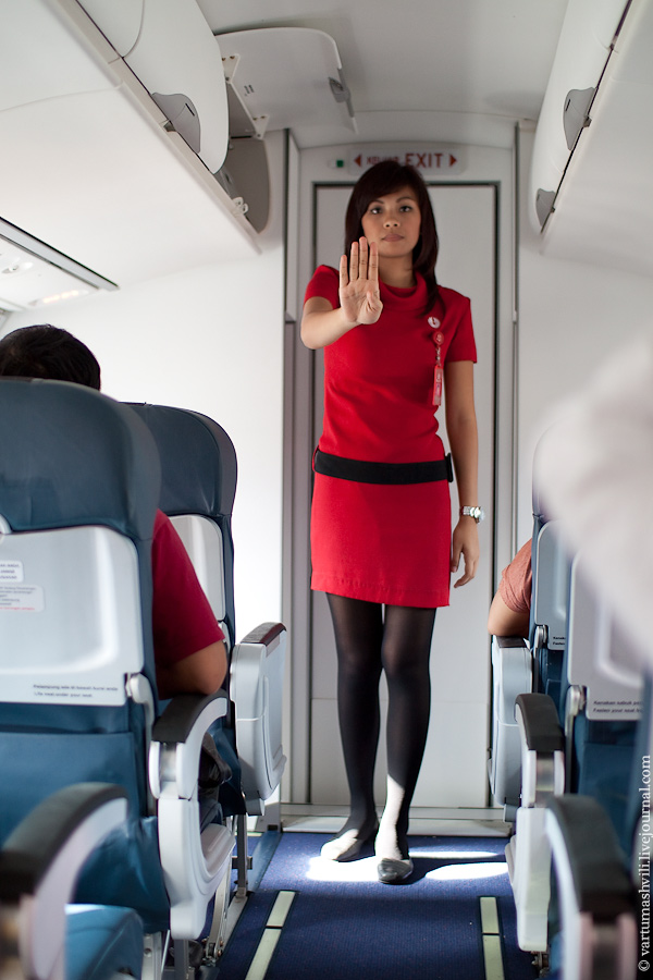 Cabin attendent of Wings Air