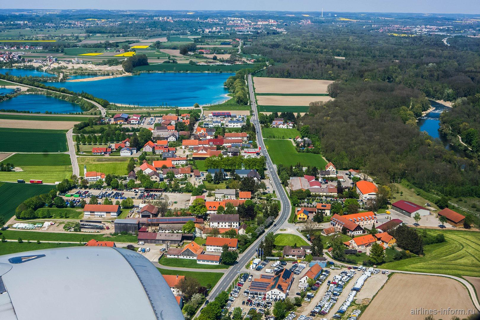 Деревня в Баварии рядом с аэропортом Мюнхен
