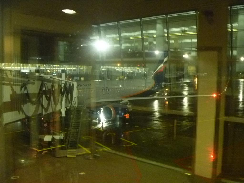 Европейский voyage. Часть 7. Берлин (SXF) - Москва (SVO/D) на Airbus A320 АЭРОФЛОТ.
