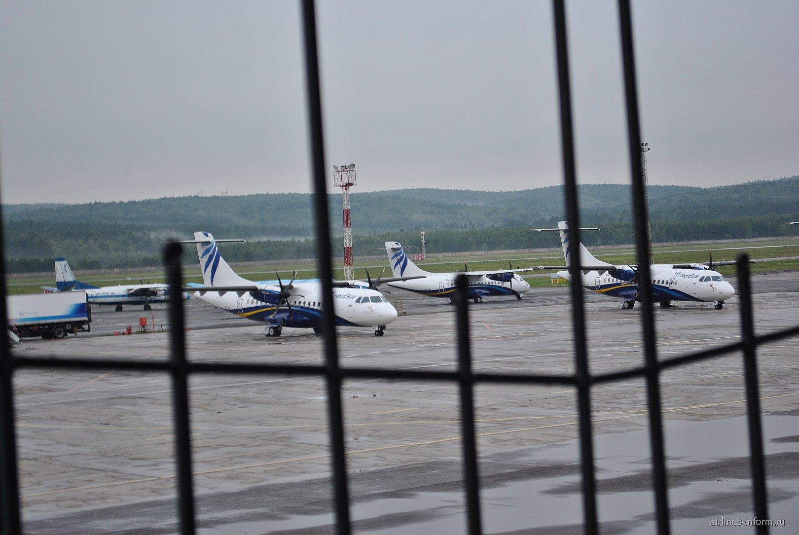 В красноярском аэропорту Емельяново