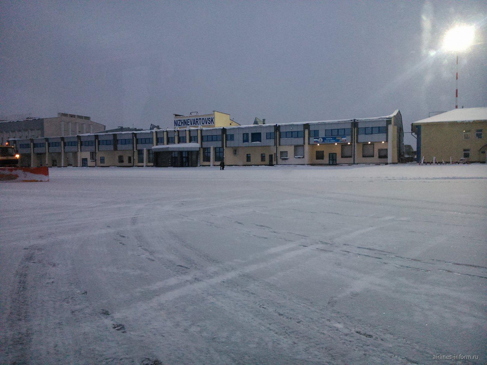 Международный терминал аэропорта Нижневартовск