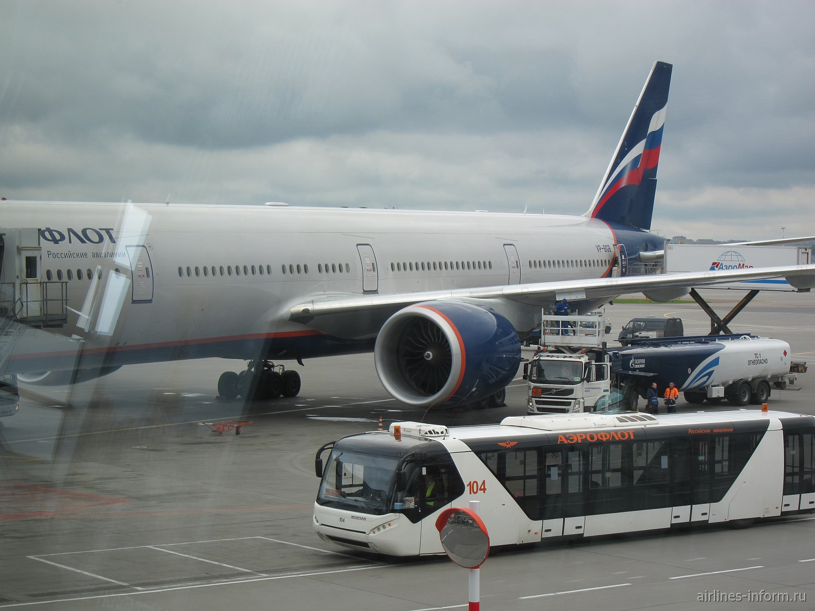 Москва-Лос-Анджелес с Аэрофлотом