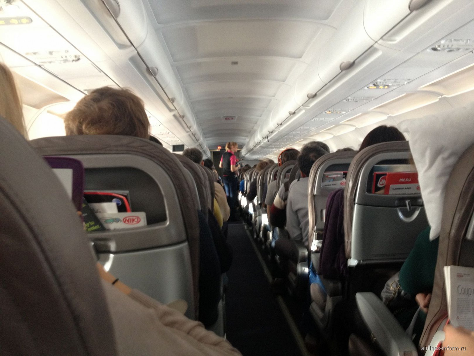Airbus A320 авиакомпании Niki