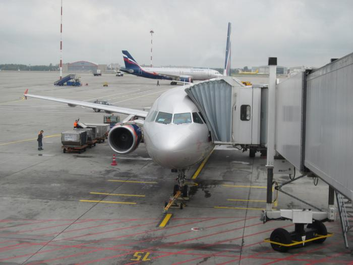Аэрофлот: олимпийский рейс Москва-Сочи