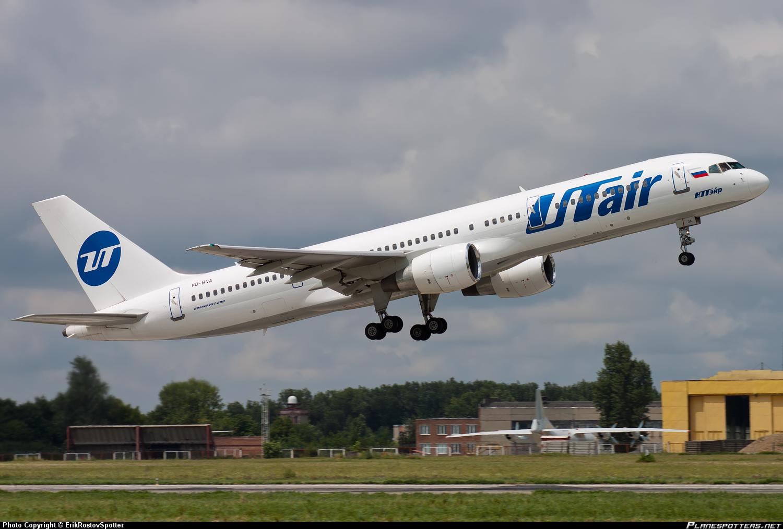 Боинг-757-200 авиакомпании ЮТэйр