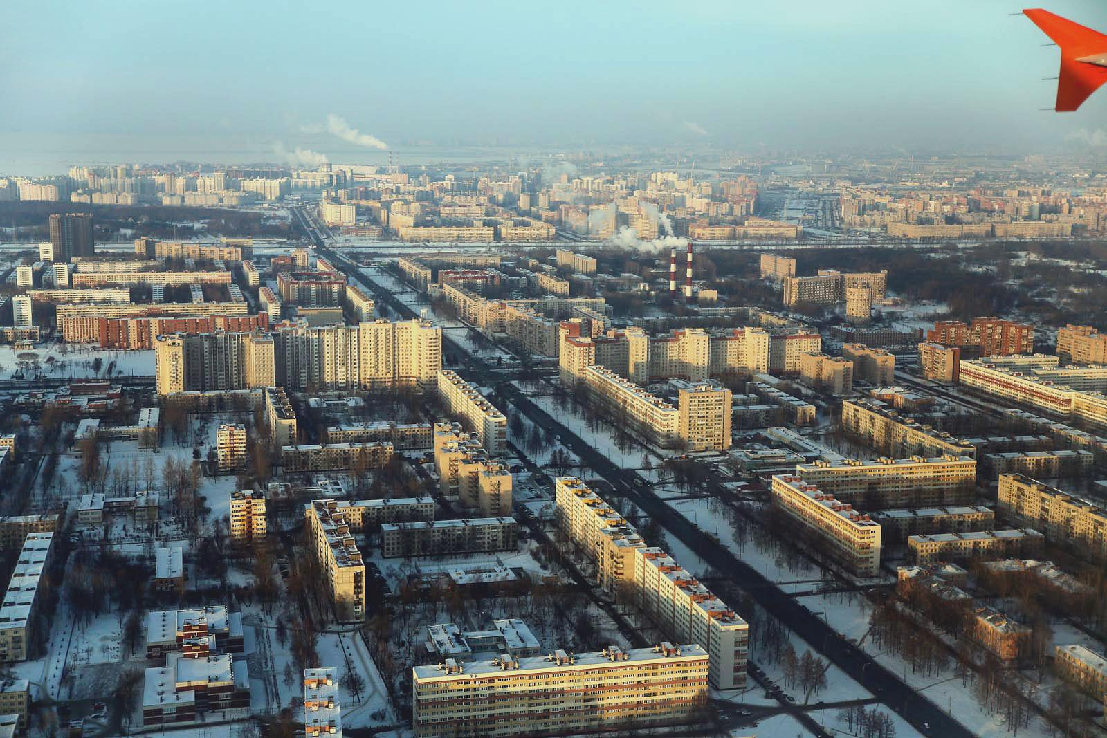 Окраины Санкт-Петербурга