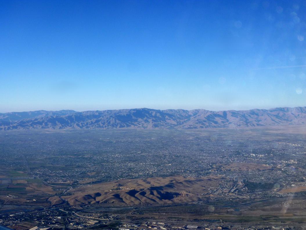 Вид на Памирские горы