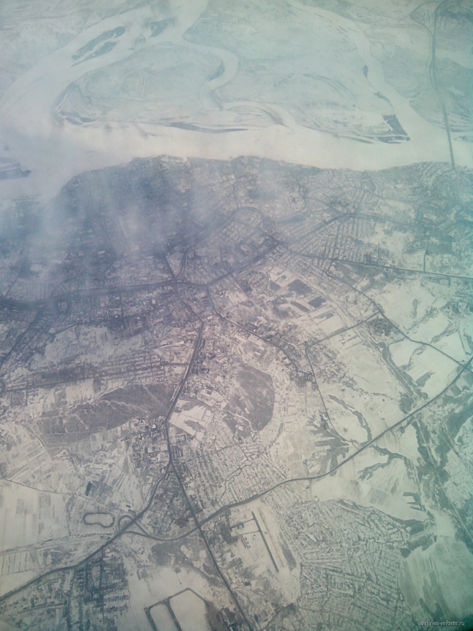 Пролетая над Хабаровском