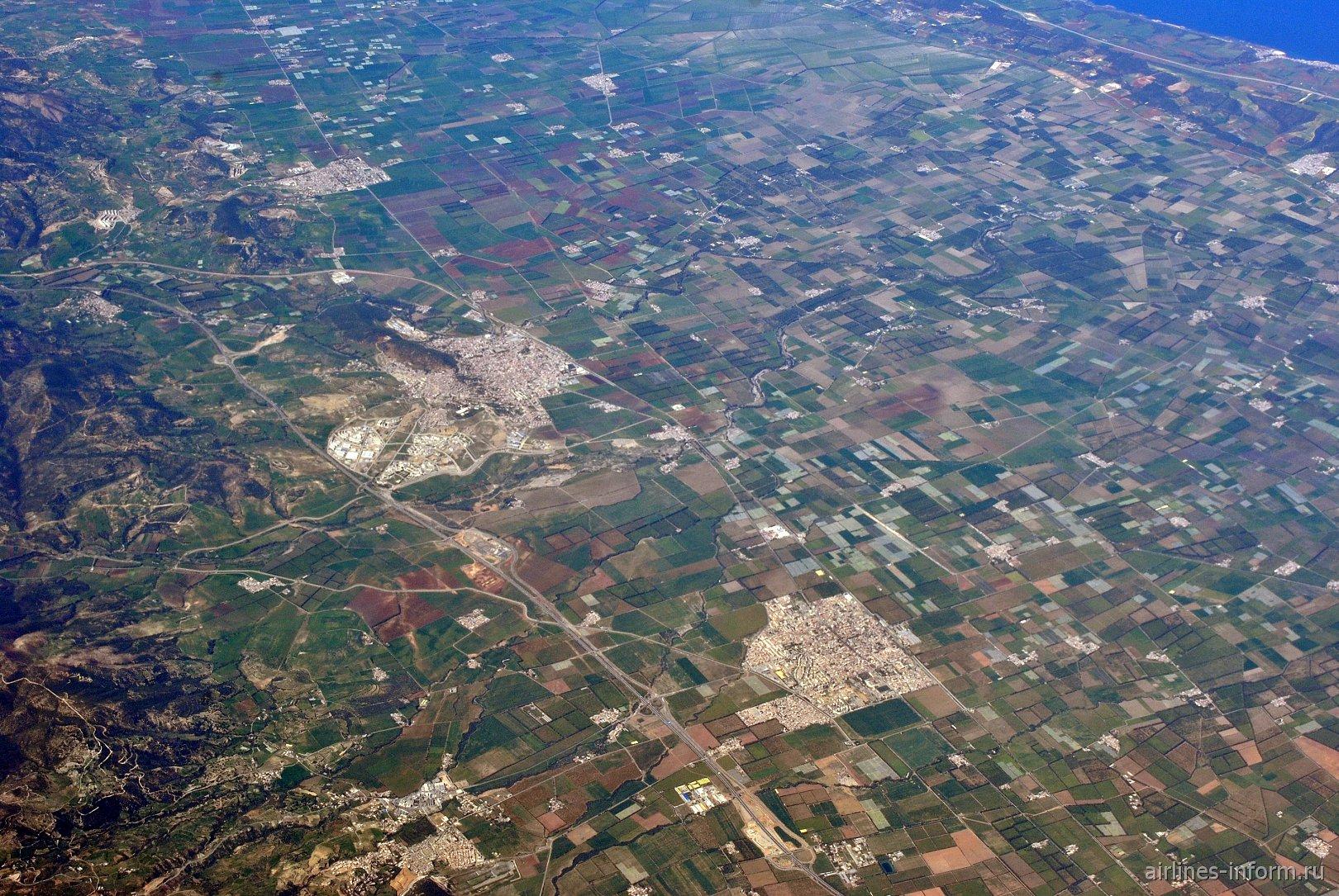 Населённый пункт Эль Аффрун в Алжире