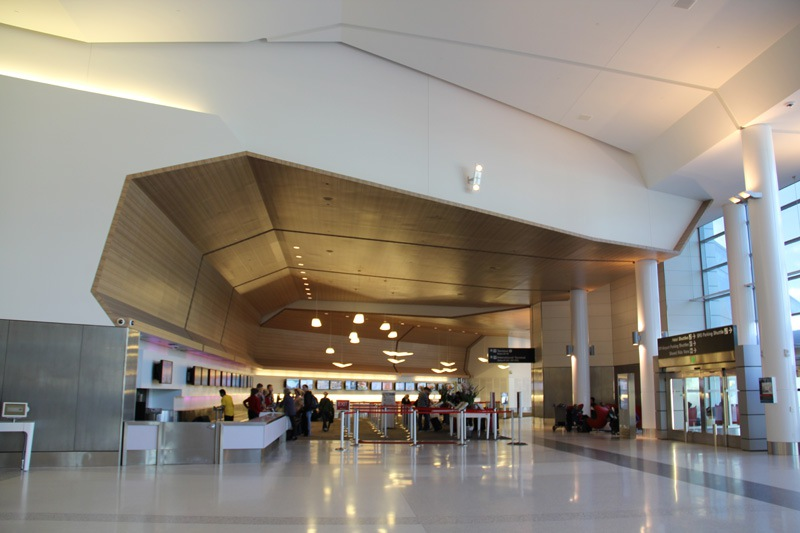 Terminal 2 of San Francisco airport