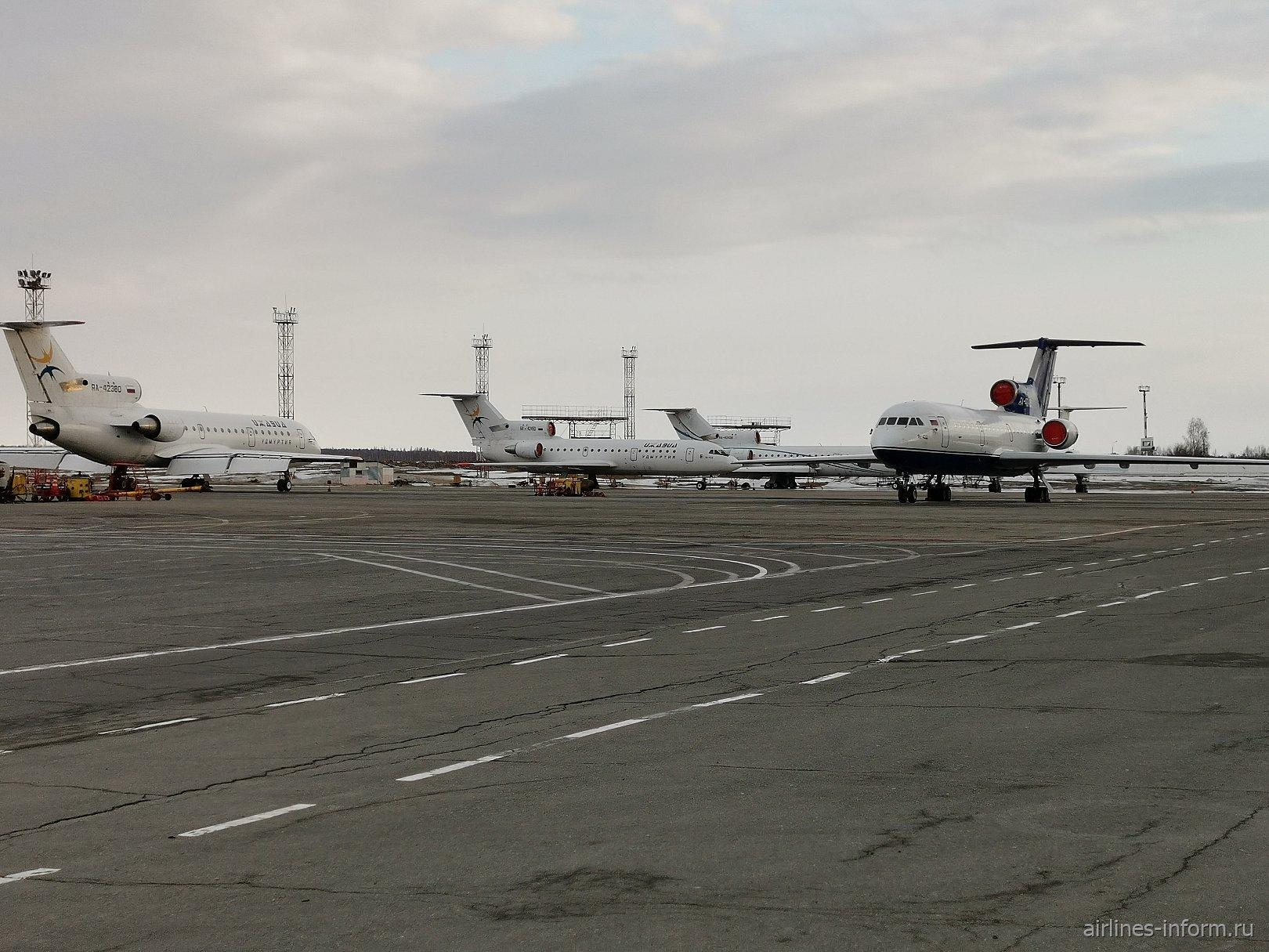 Перрон аэропорта Ижевск