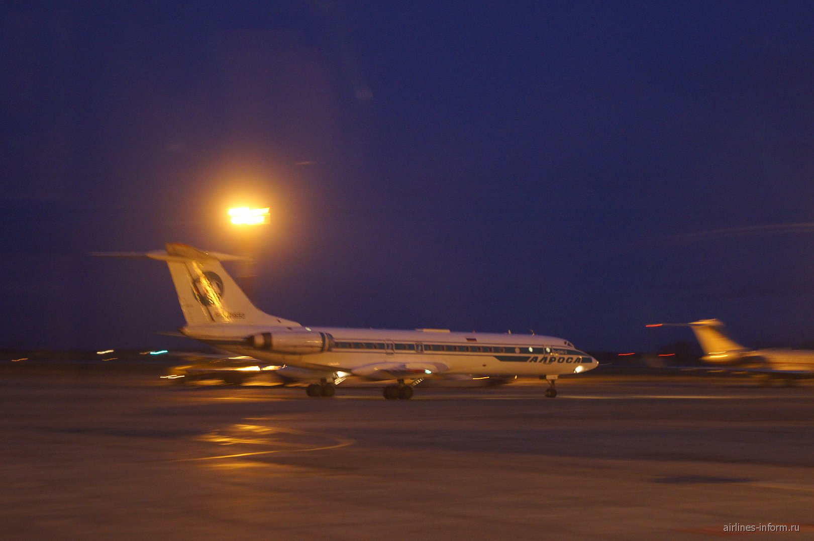 Ту-134 авиакомпании Алроса