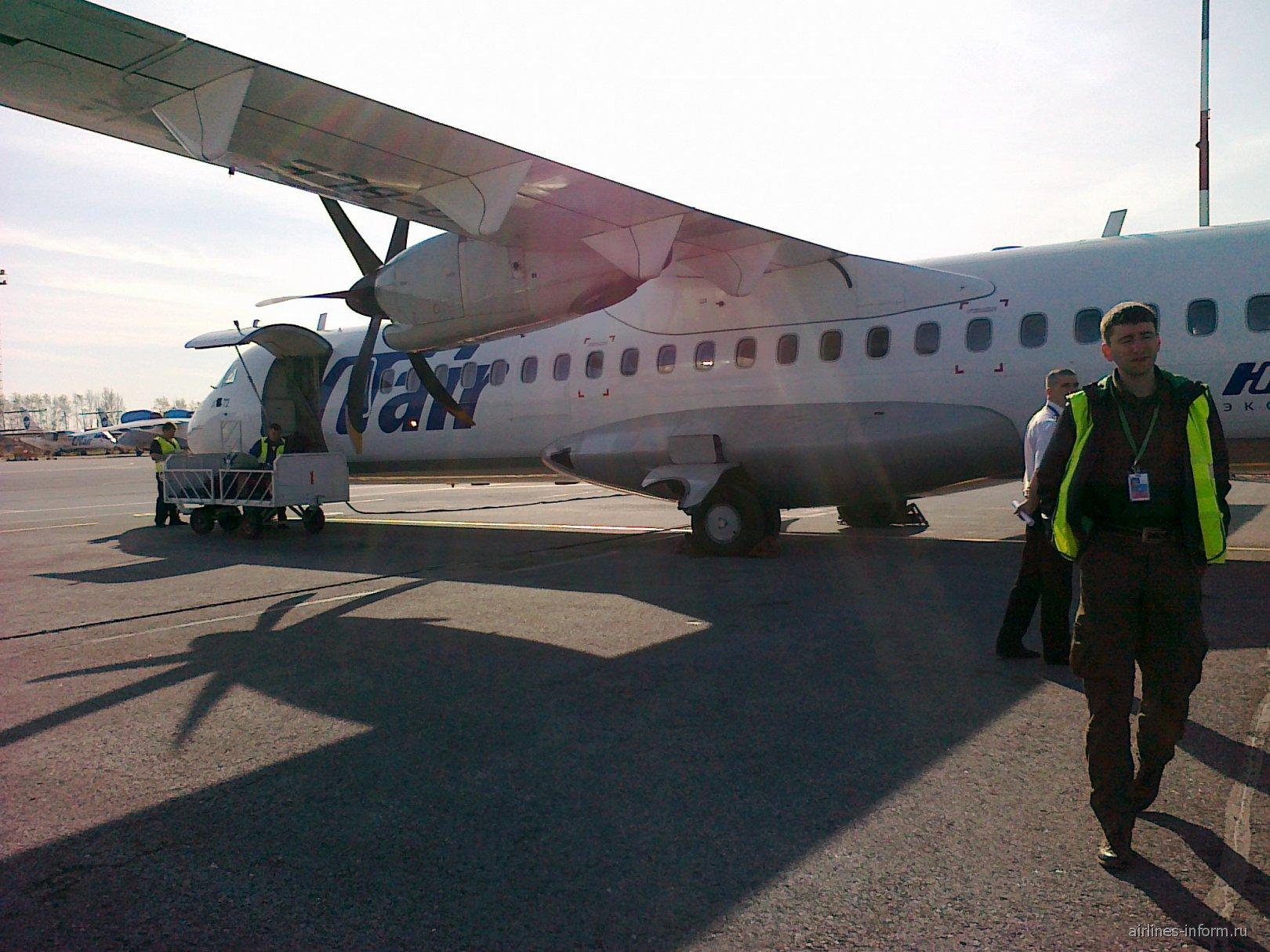 Самолет ATR 72 авиакомпании ЮТэйр-Экспресс