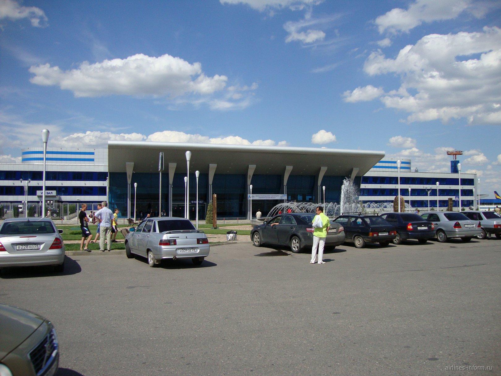 Аэровокзал аэропорта Минеральные Воды