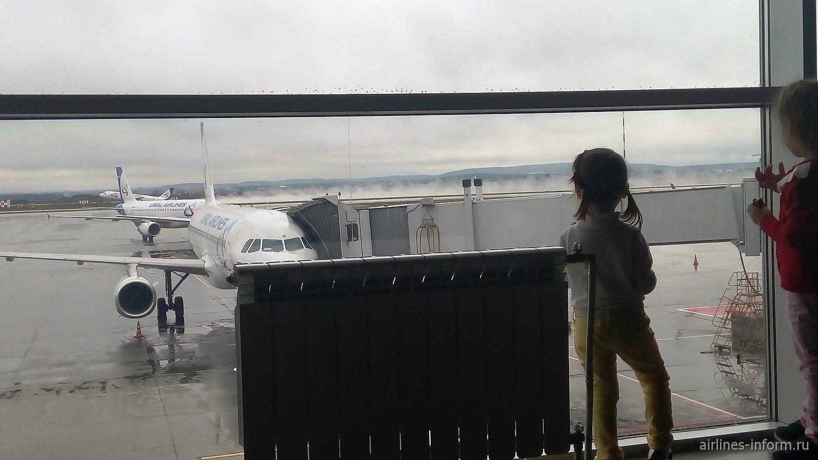 Уральскими авиалиниями из Екатеринбурга в Москву на А320: новые сервисы, дебошир и первый рейс