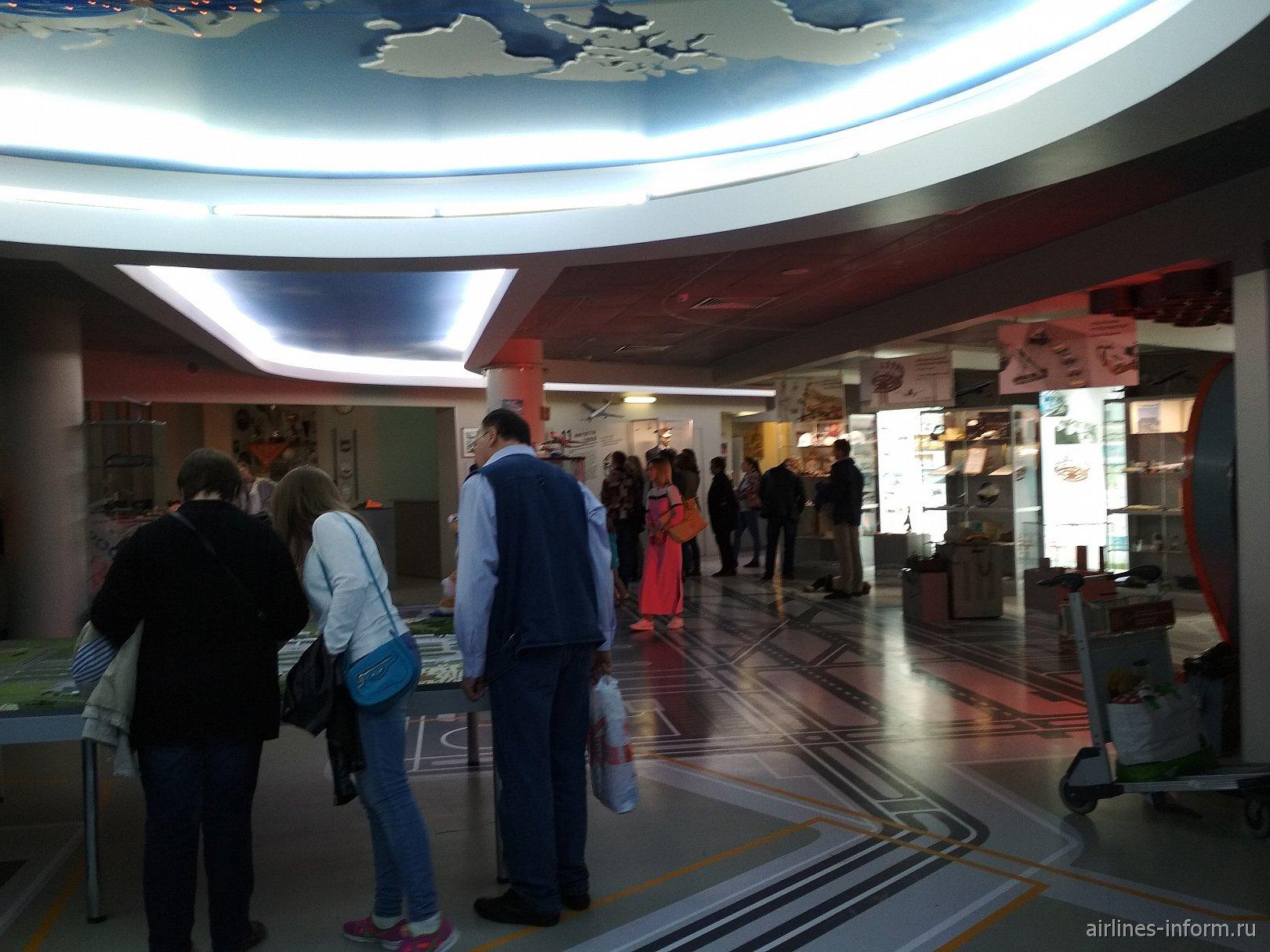 Ночь в музее 2018. Музей Шереметьево + Межтерминальный переход + новый терминал B
