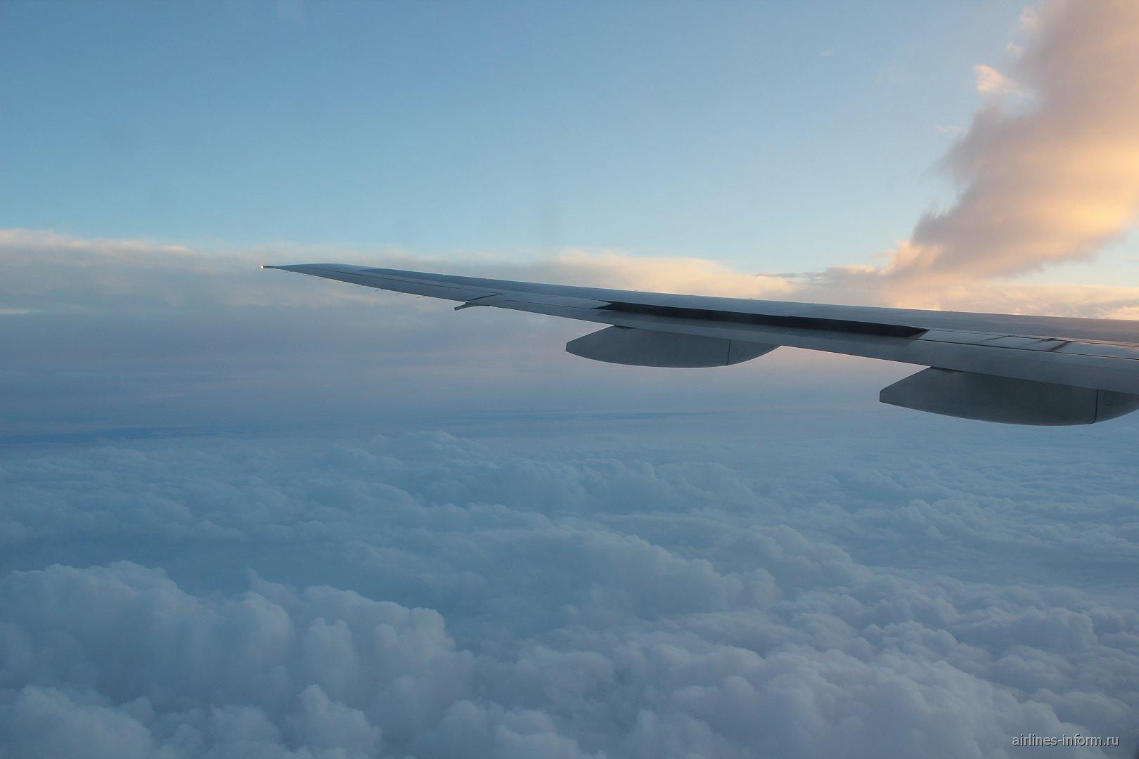 Рейс Москва-Новосибирск авиакомпании Трансаэро