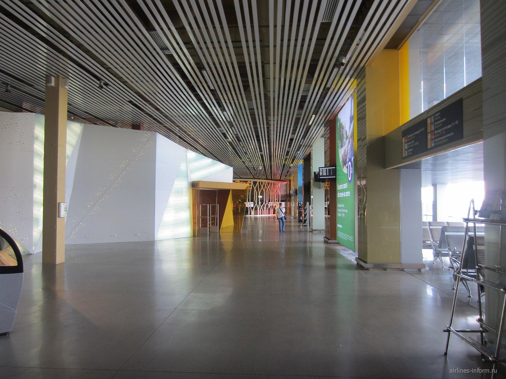 Залы ожидания в аэропорту Екатеринбург Кольцово