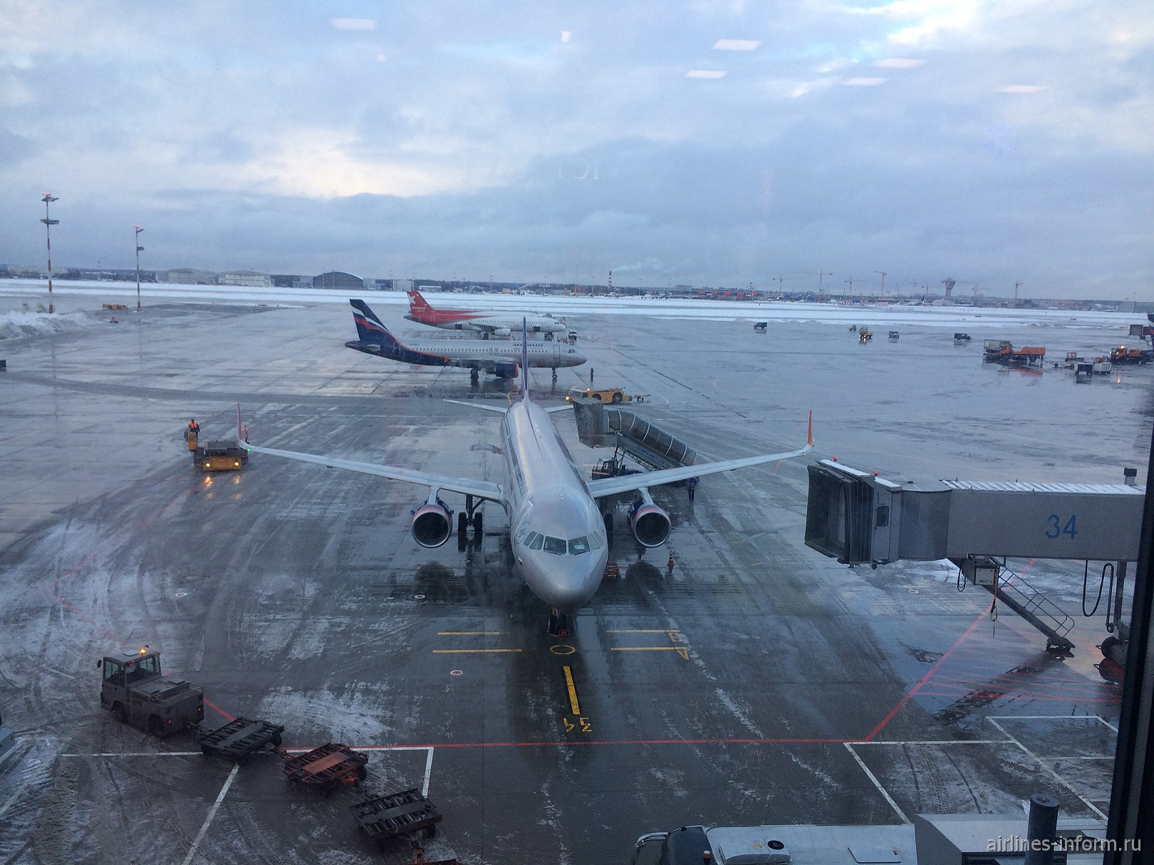 Новогодние каникулы. Москва Шереметьево (SVO) - Прага (PRG) с Aeroflot