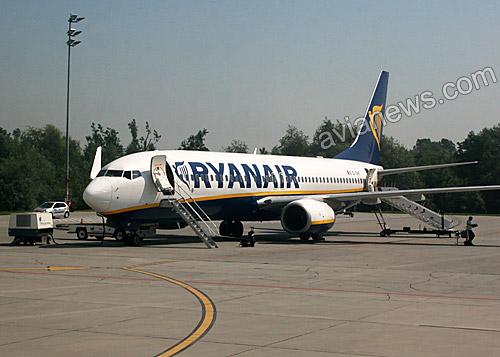 Boeing 737-800 of Ryanair