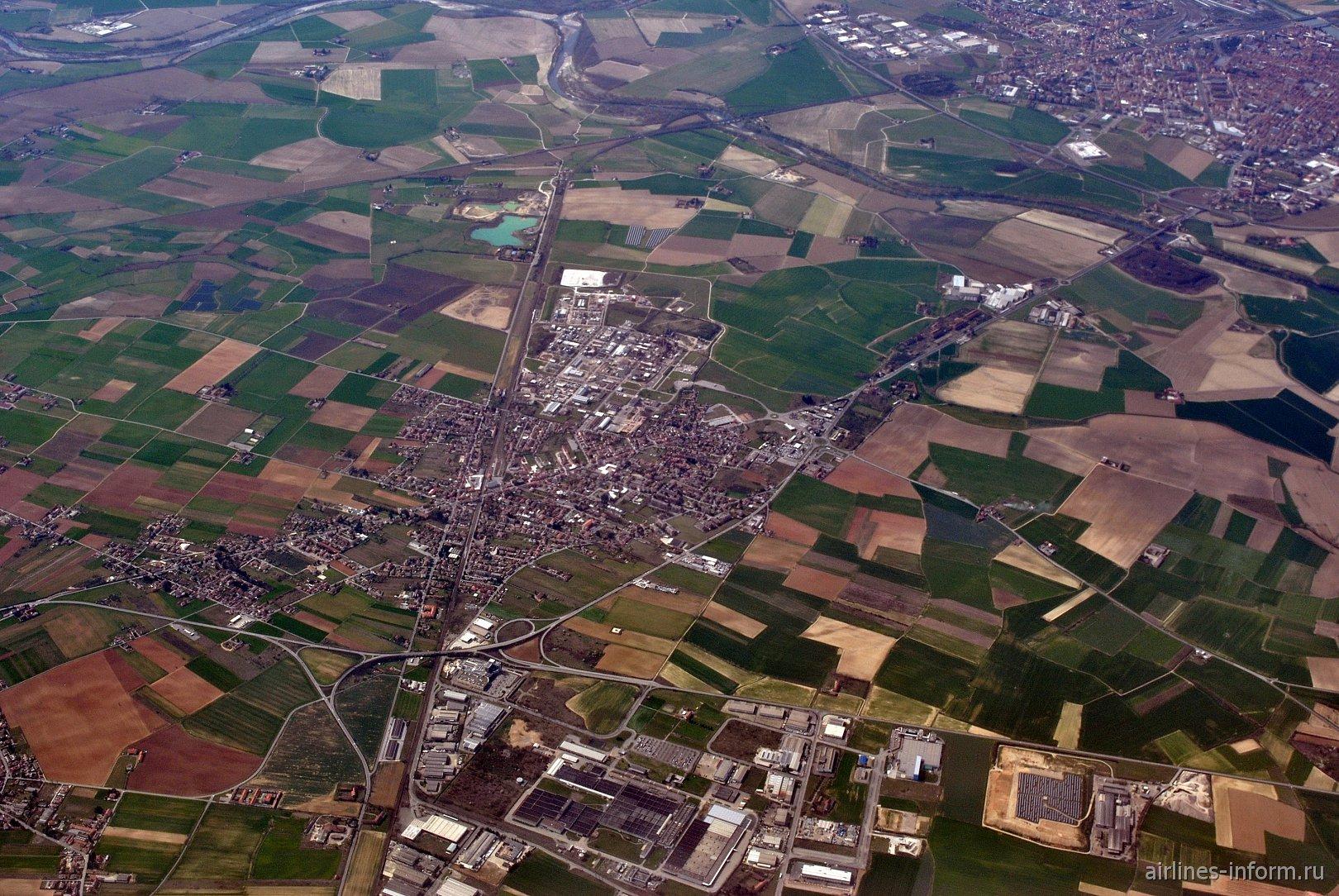 Городок Spinetta Marengo на севере Италии