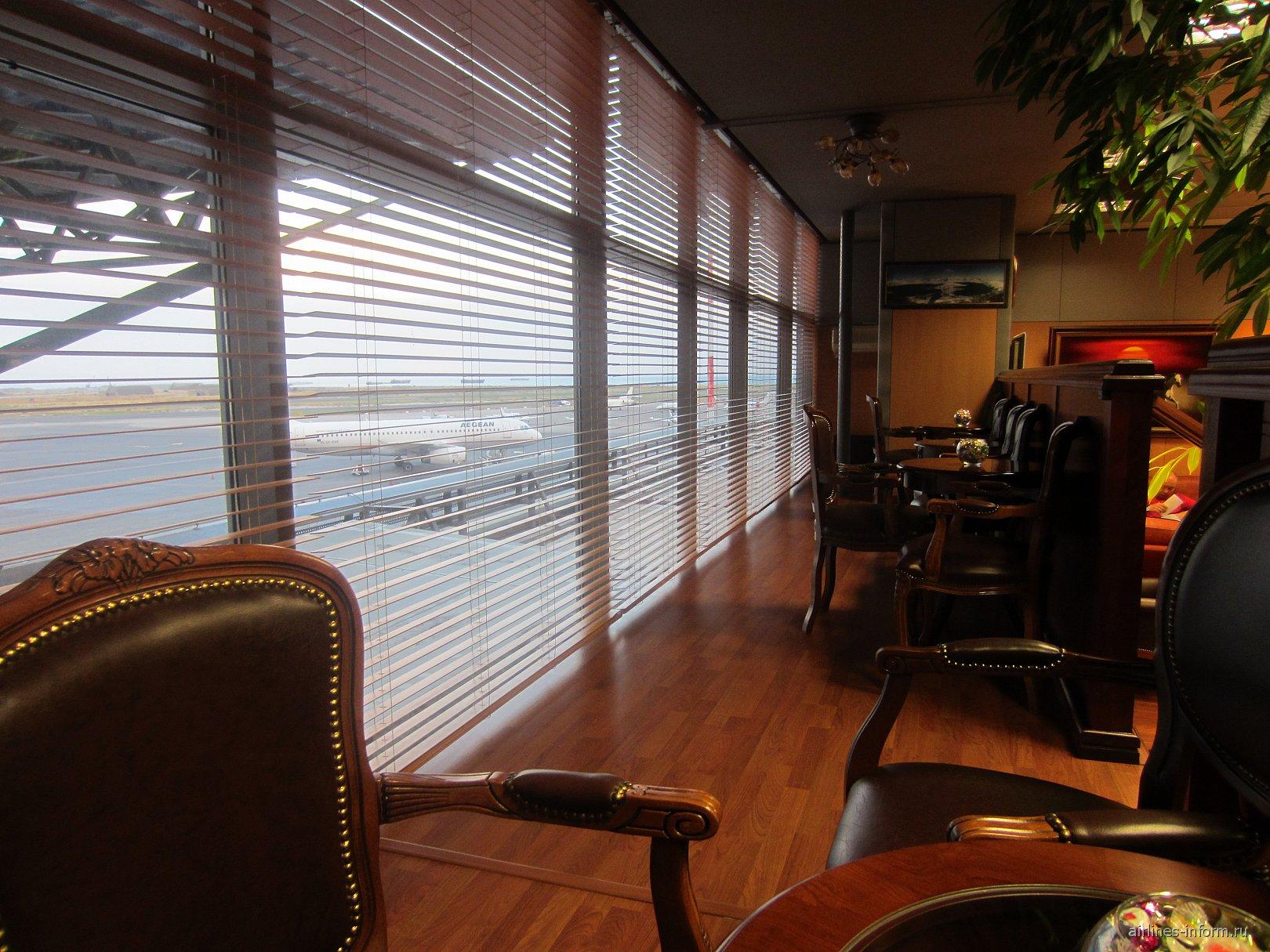 В бизнес-зале аэропорта Салоники