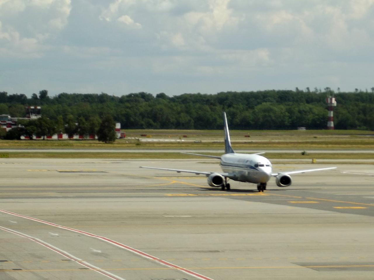 Самолет Боинг-737-300 авиакомпании Белавиа