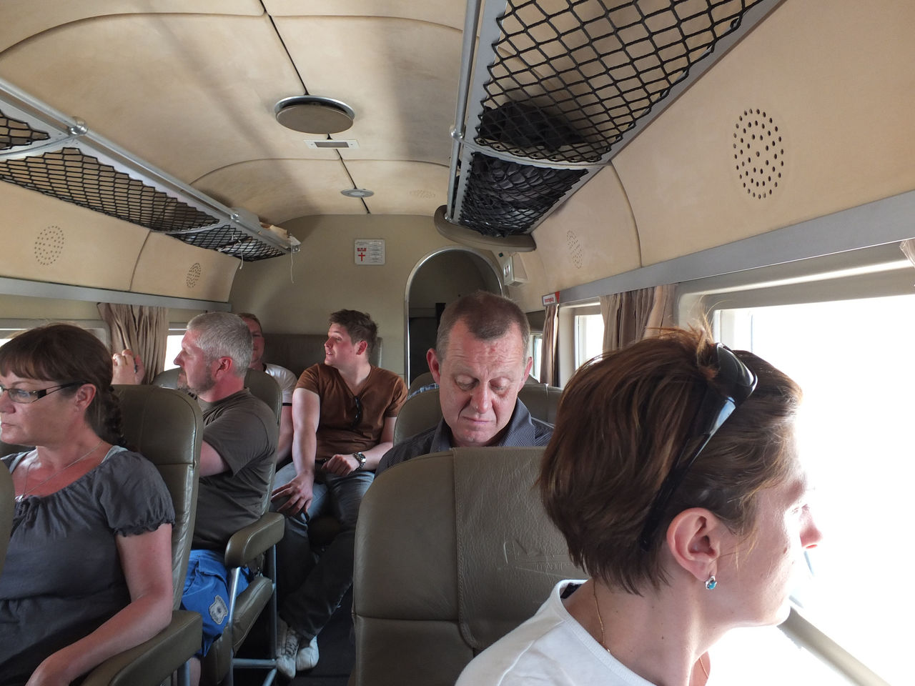 Салон самолета Юнкерс Ю-52