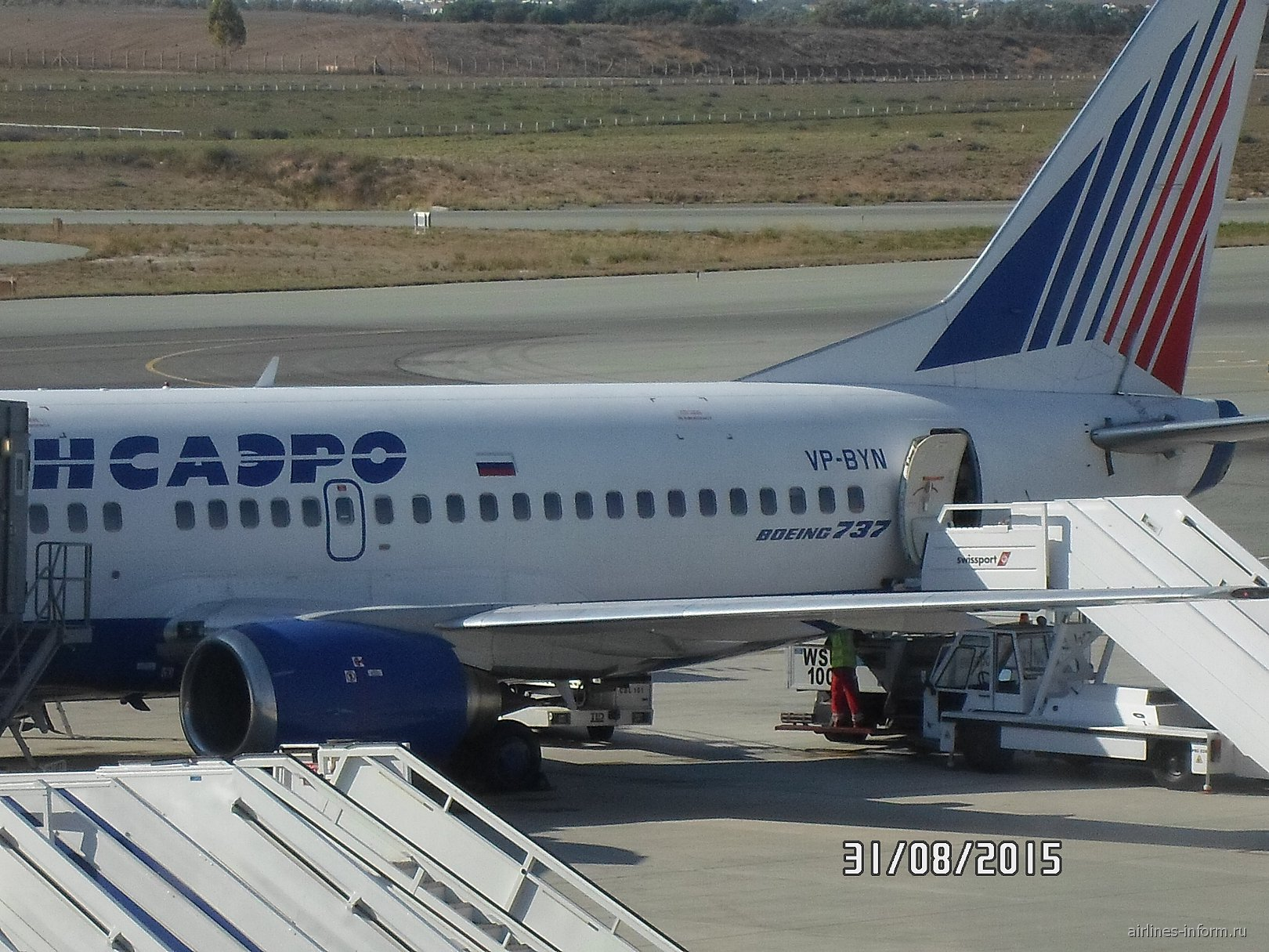Вспоминая Трансаэро. Или Ларнака-Екатеринбург на Boeing 737-500