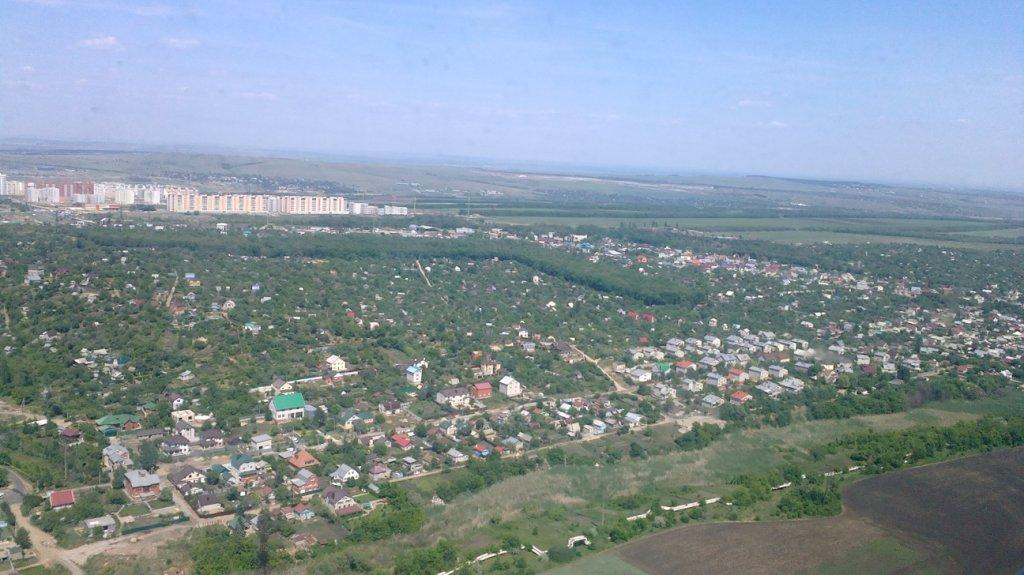 В полете над Саратовом
