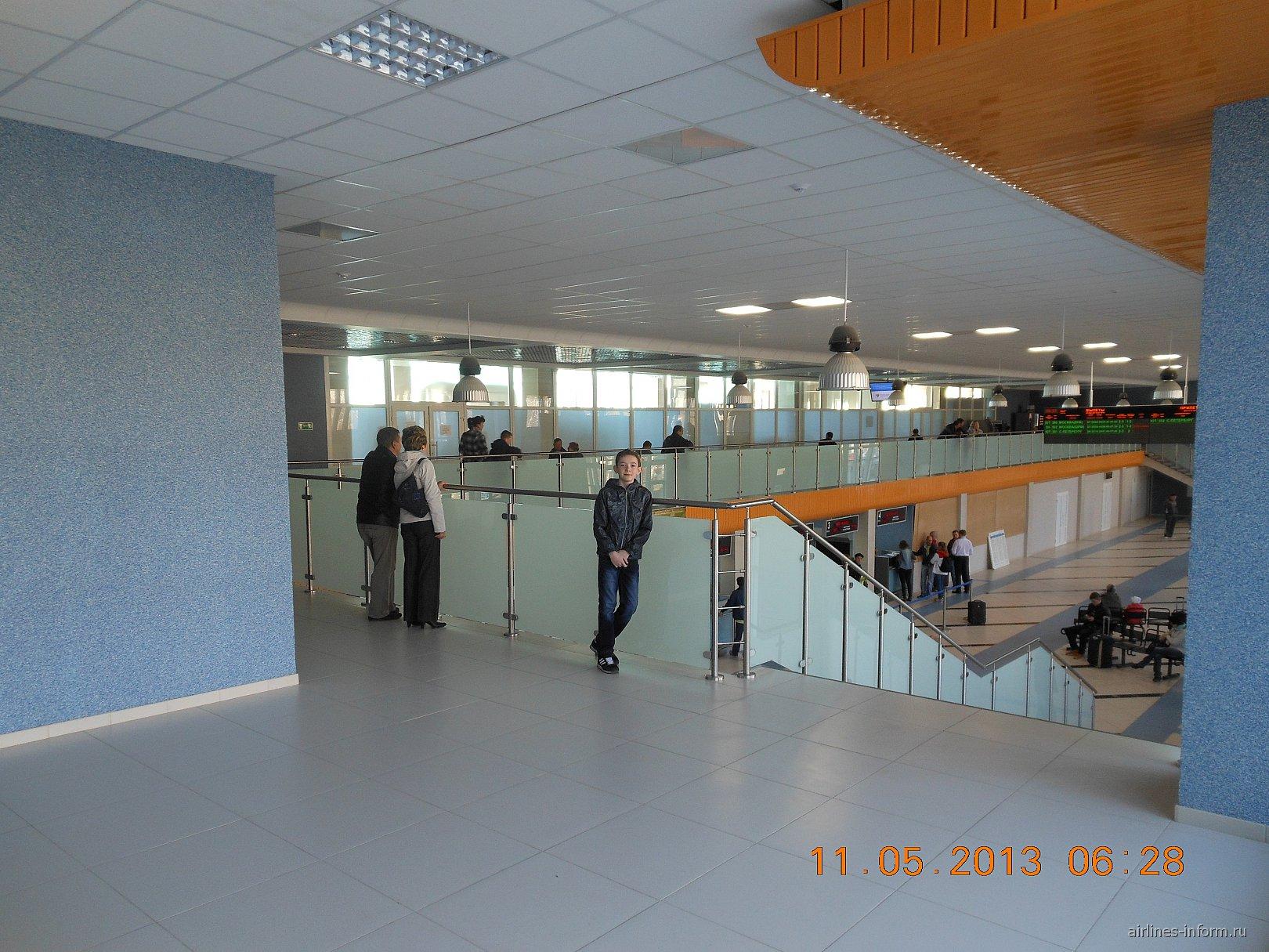 Аэропорт Сыктывкар после ремонта