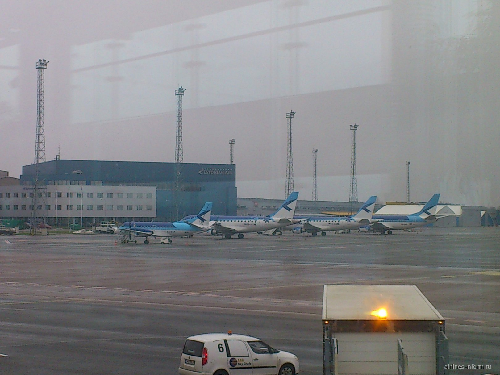 Самолеты авиакомпании Эстониан Эйр