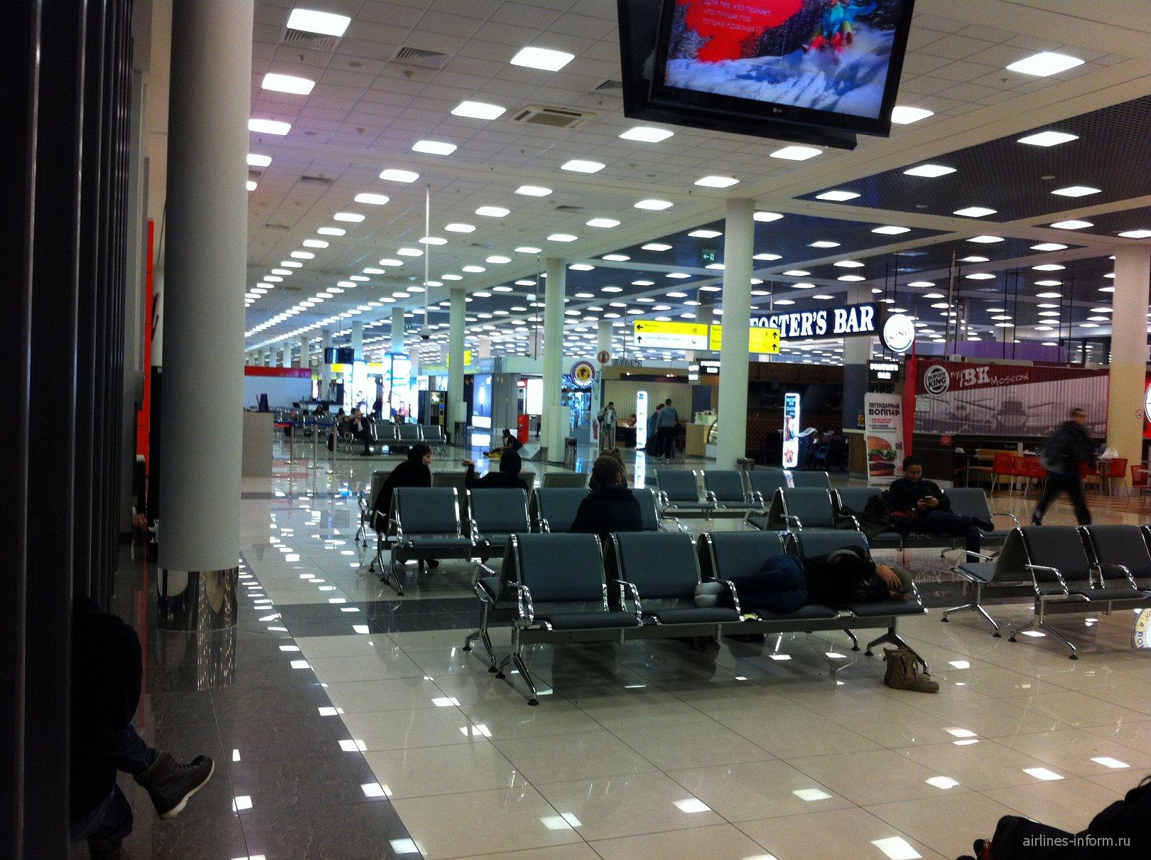 Чистая зона терминала E