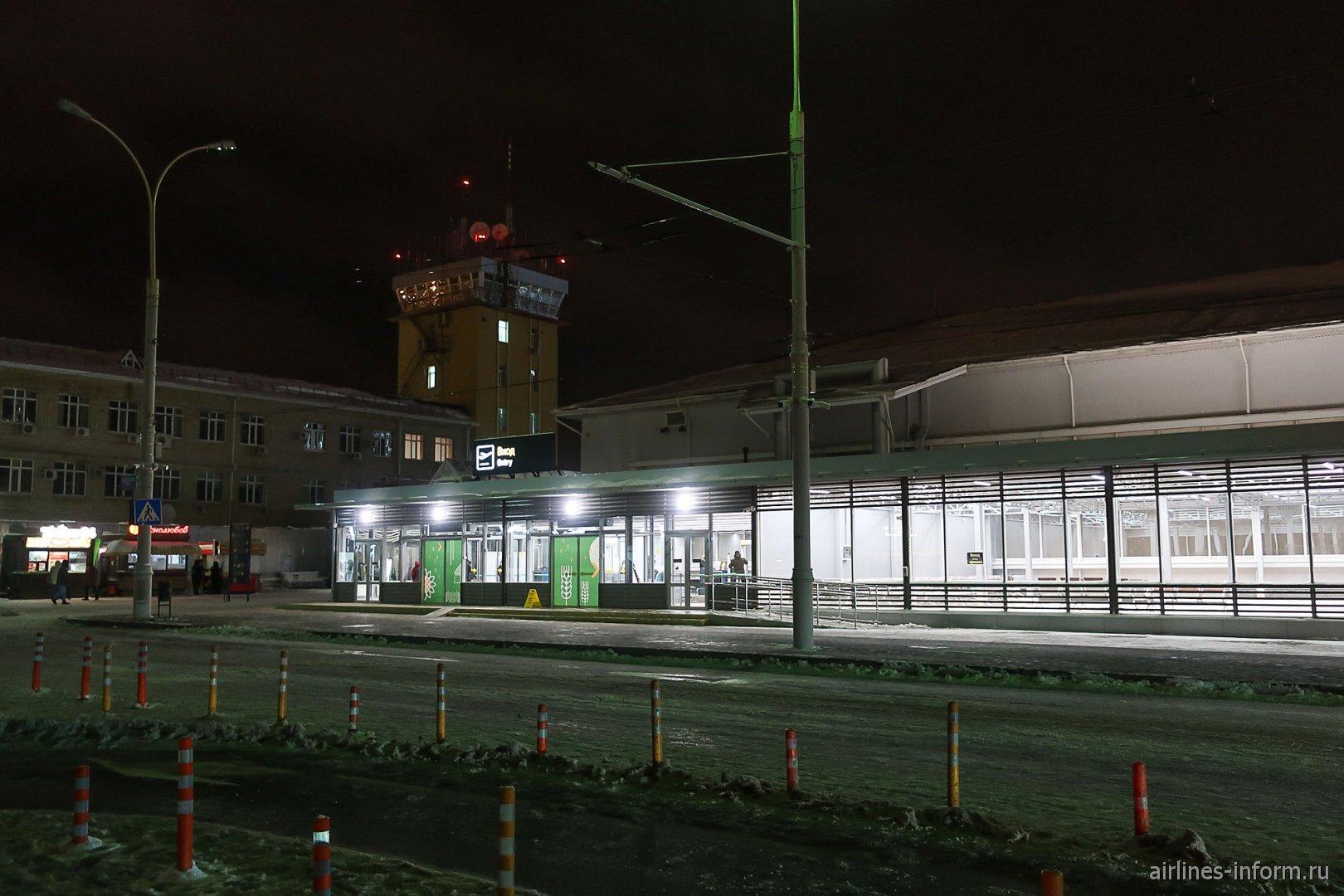 Вход в зону прилета аэропорта Краснодар Пашковский