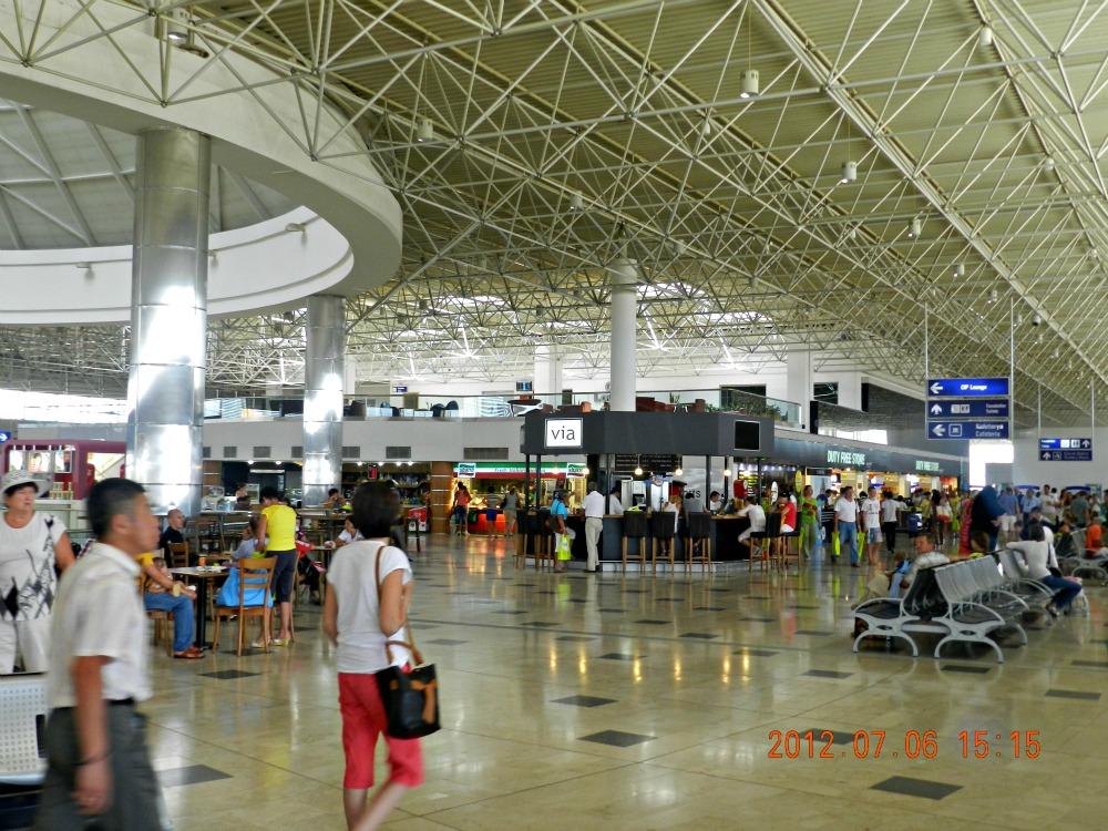 В аэропорту Анталья