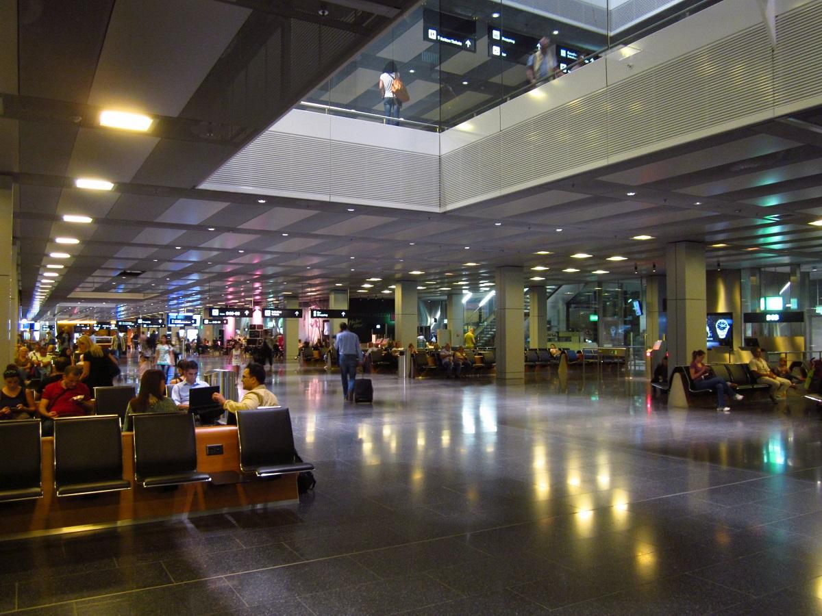 В аэропорту Цюрих