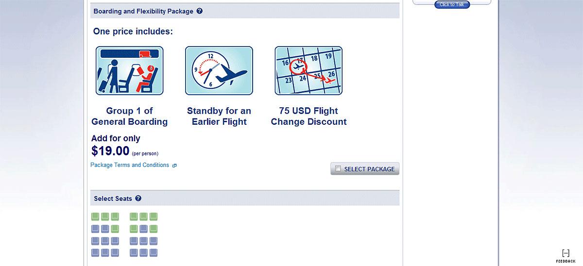 Покупка авиабилета на сайте www.aa.com
