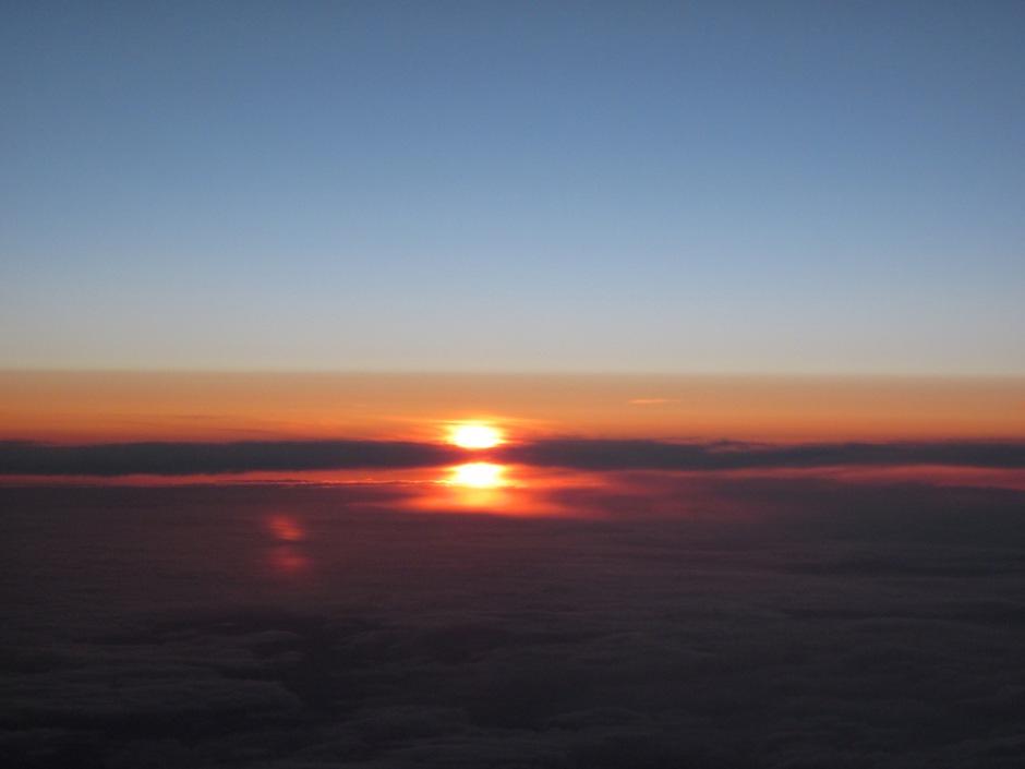 Flight from Hong Kong to Tokyo