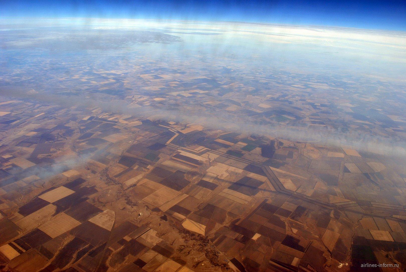 В полете на юге России