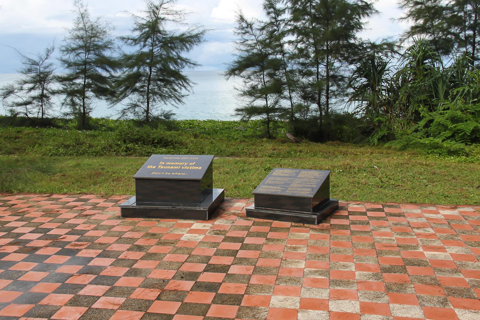 Памятник жертвам цунами 2004 года