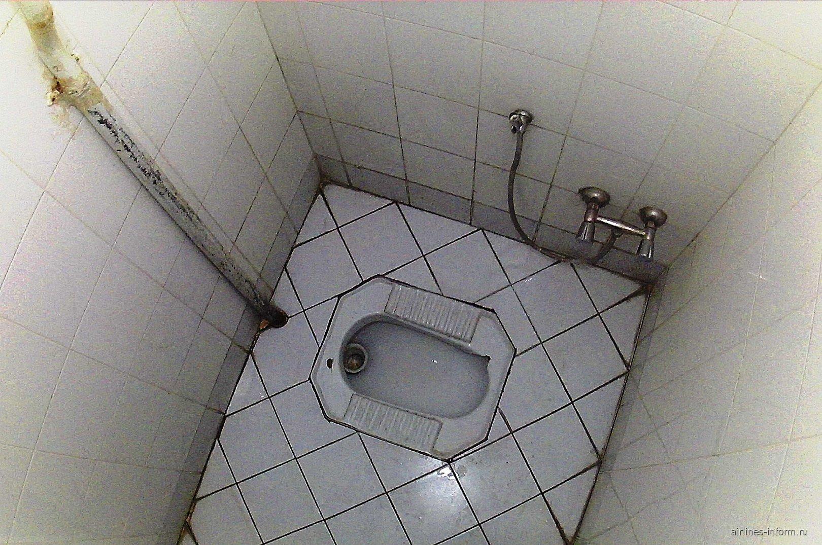 Туалет в аэропорту Шираз