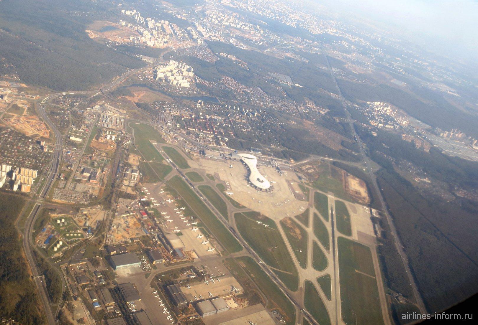 Аэровокзал аэропорта Москва Внуково