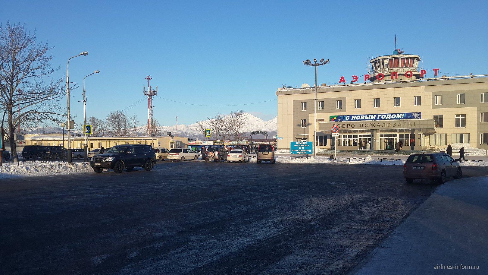 Привокзальная площадь аэропорта Елизово