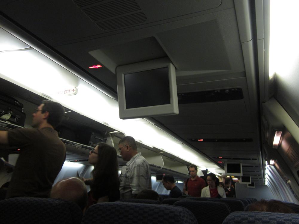 Салон самолета Боинг-737-800 авиакомпании United