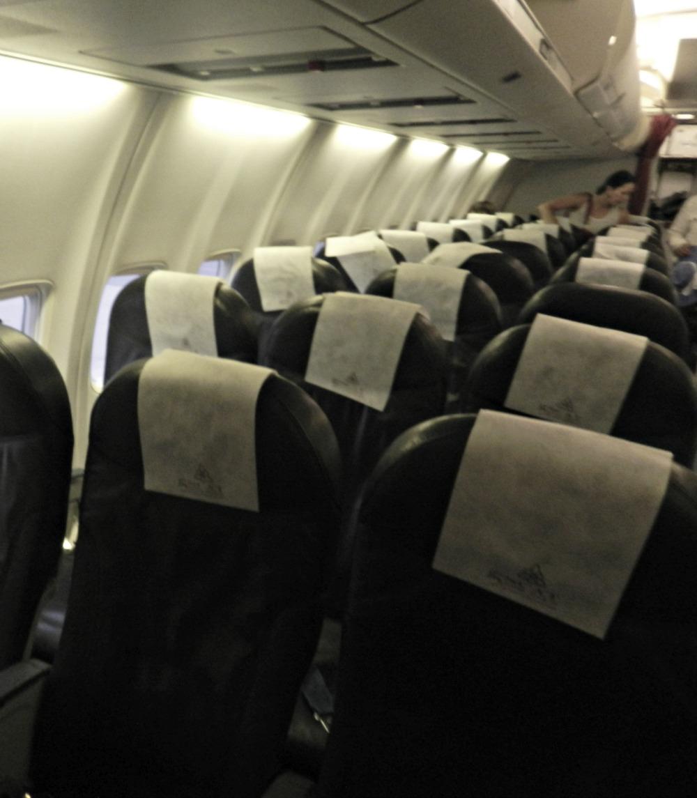 Кресла Боинга-757 авиакомпании СКАТ
