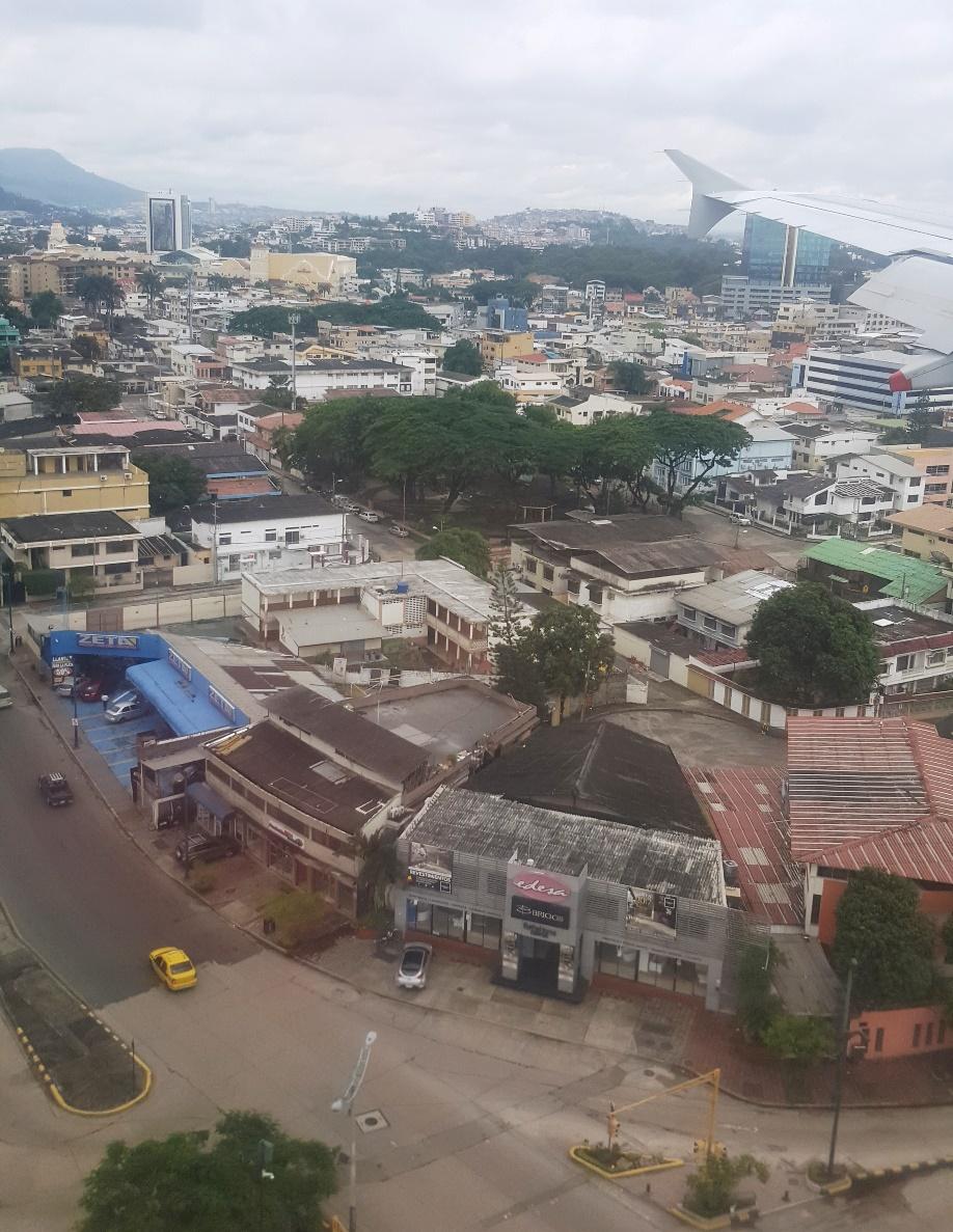 Улицы города Гуаякиль в Эквадоре