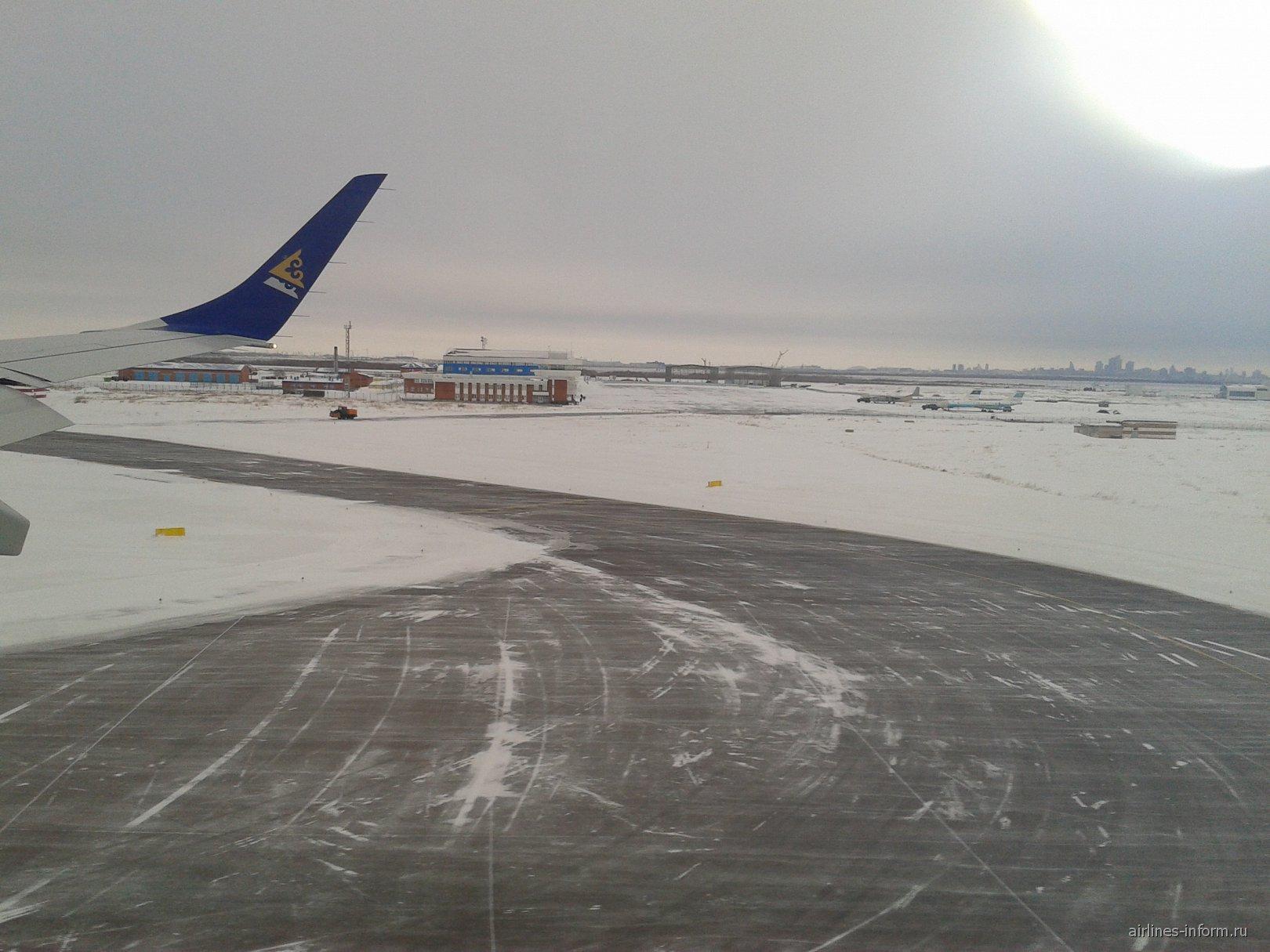рейс Павлодар-Астана авиакомпании Air Astana